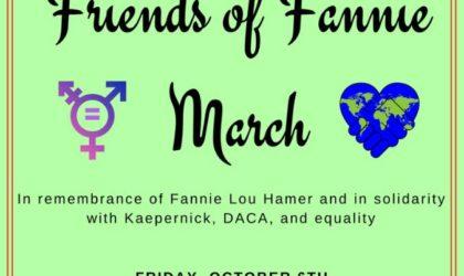 Y?BAM Friends of Fannie March