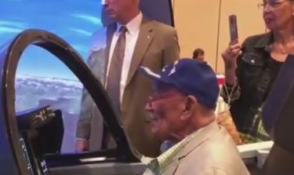 Original Tuskegee Airman Flies Again