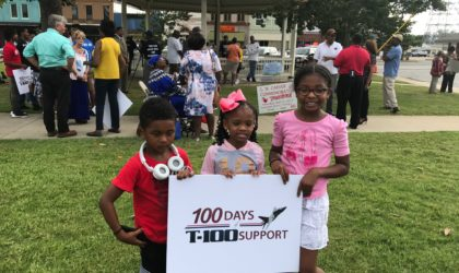 T-100 Tuskegee Shines on TV