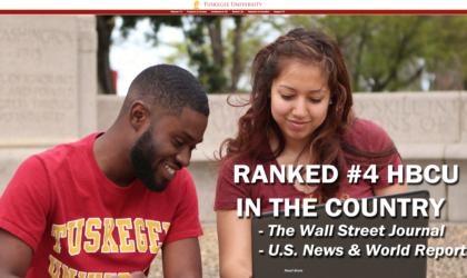 Tuskegee University – New Look on the Internet