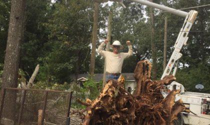 UBT Linemen Restore Power