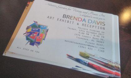 Brenda Davis Art Exhibition
