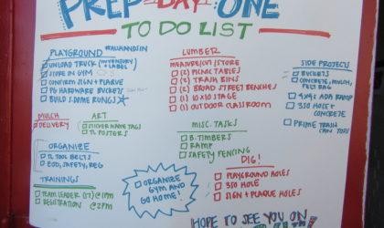 KaBOOM Playground: Prep Day #1