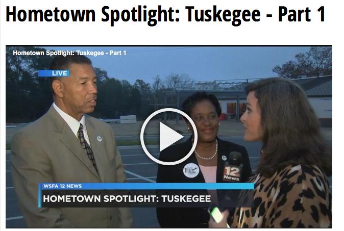 Tuskegee Shines on WSFA – ECHOboom Tuskegee